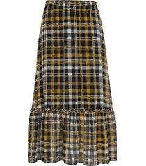 brix maxi skirt lång kjol multi/mönstrad just female