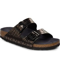 arizona shoes summer shoes flat sandals svart birkenstock