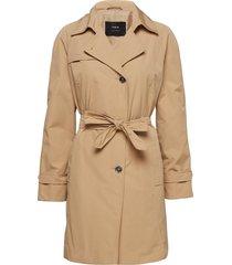 outdoor jacket no wo trench coat rock beige taifun