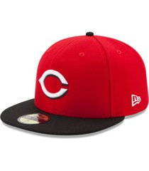 new era cincinnati reds authentic collection 59fifty cap