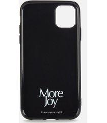 more joy women's more joy iphone 11 case - black