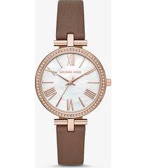 orologio maci tonalita oro rosa con cinturino in pelle