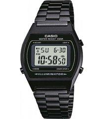 reloj vintage negro casio