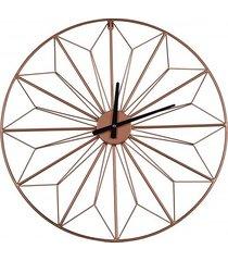 zegar miedziany zegar metalowy 60 cm