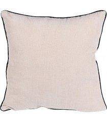 poduszka dekoracyjna sztruksowa beżowa