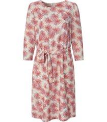 jurk met 3/4-mouwen en bloemenprint van uta raasch multicolour
