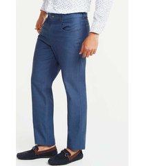 pantalón cinco bolsillo slim fit azul oscuro 40