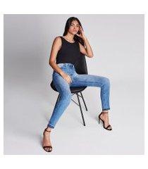 lez a lez - calça cropped aruba every day jeans
