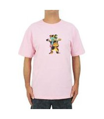 camiseta grizzly fungi bear unissex