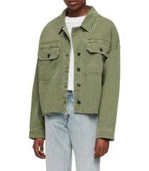 women's allsaints morten shirt jacket