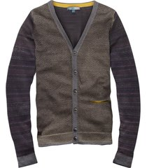 cast iron slim fit vest katoen