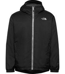 m quest insulated jk outerwear sport jackets svart the north face