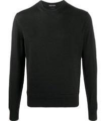 tom ford black wool sweatshirt