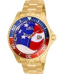reloj invicta 27963 oro hombres