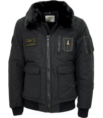aeronautica militare pilot padded jacket 202ab1907ct2518