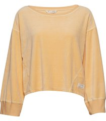 hygge sweater sweat-shirt trui geel odd molly