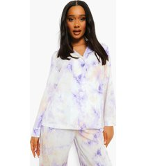 pastel tie dye oversized blouse, lilac