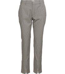 joni trousers utsvängda byxor grå twist & tango
