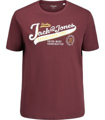 jack & jones t-shirt rood plus size