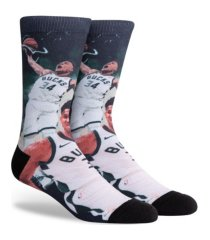 parkway men's milwaukee bucks voltage crew socks