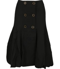 jw anderson buttoned skirt