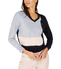 tommy hilfiger sport colorblocked sweater