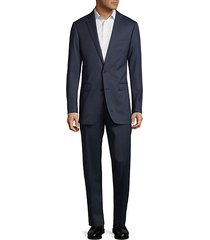 extreme slim fit wool suit