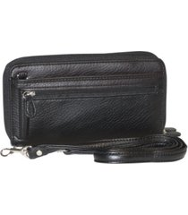 buxton the ultimate double zip organizer wallet