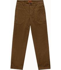 barena pantalone florio stino in tessuto beige