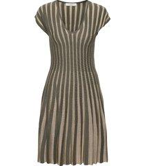 cleo dress dresses knitted dresses grön busnel