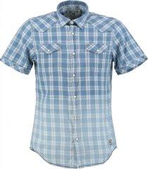 garcia zacht blauw overhemd