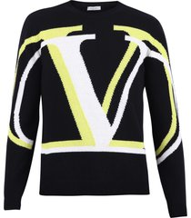 valentino branded sweater
