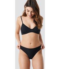na-kd swimwear bikini bottom - black