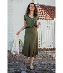 femme9 rok groen ginger
