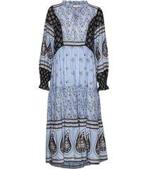 la vie boheme dress jurk knielengte blauw odd molly