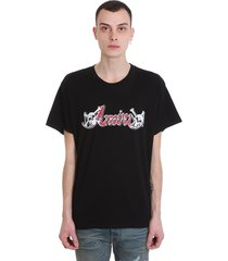 amiri t-shirt in black cotton
