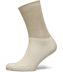 decoy ankle sock glitter lingerie socks regular socks creme decoy
