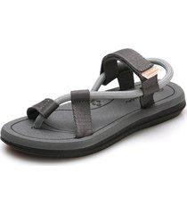 sandalias de verano para hombre para el hogar al aire libre-gris