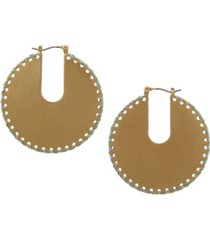the sak gold-tone hoop earrings