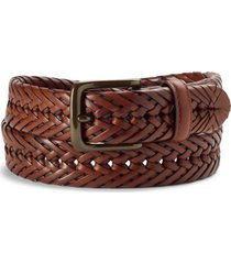 braided latigo leather belt