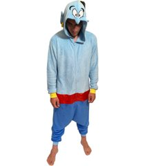 genie one piece men's hooded pajama, online only