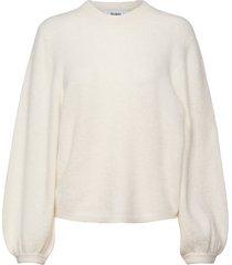 eija sweater stickad tröja vit stylein