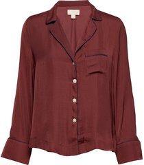 dreamwell satin shirt top röd gap