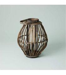 luminária suva cor: marrom - tamanho: único
