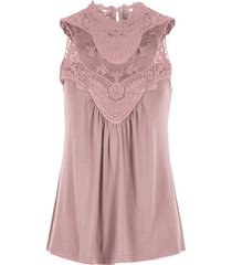 top con pizzo (rosa) - bodyflirt