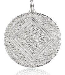 mini marie pendant, sterling silver