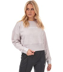 womens coeeze cropped sweatshirt