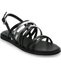 karsea ankle shoes summer shoes flat sandals svart clarks