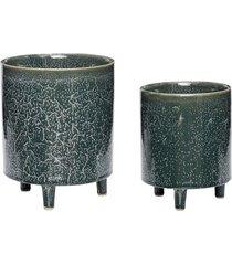 2 szt. osłonka doniczka ceramika 14xh19, 18xh24