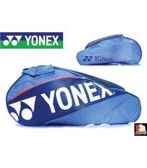 maletín de tenis yonex- azul x12